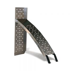 Ohio Steel 1,500 lb. Capacity Set Arched Aluminum Loading Ramps